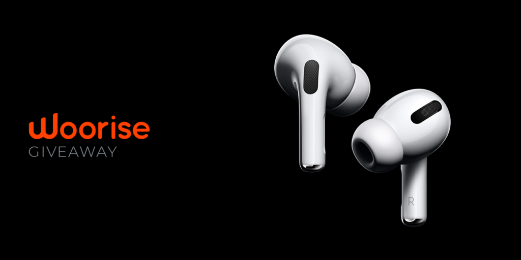 Woorise Giveaway: Win Apple Airpods Pro